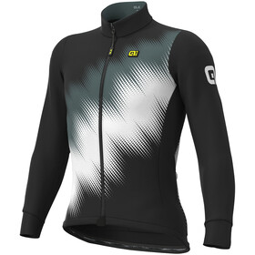 Alé Cycling Solid Pulse Longsleeve Jersey Heren, black-grey-white